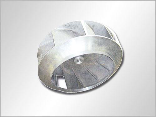 2,铝合金风机叶轮是通过精细设和独特工艺制程的,因此稳定的结构图片